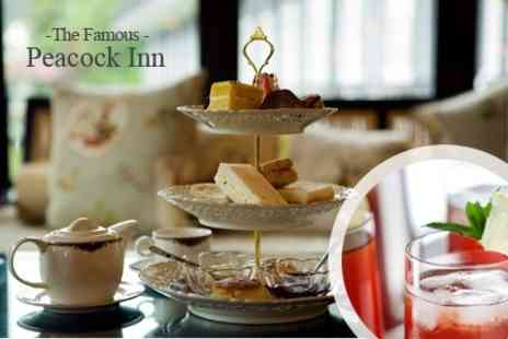 The Famous Peacock Inn - Afternoon Tea With Prosecco Cocktails For Two - Save 52%