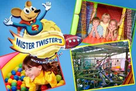 Mister Twisters - One Play Centre Visits For Up to Four - Save 61%
