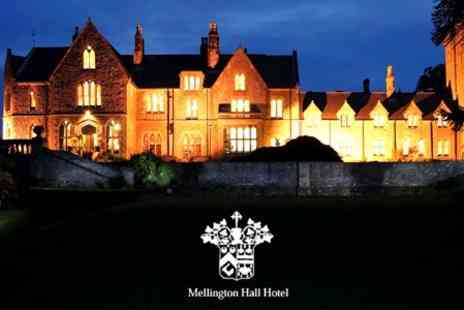 Mellington Hall Hotel - Wedding Package Outdoor Ceremony and Breakfast For 50 Guests Plus Evening Buffet and Drinks For 80 Guests - Save 57%
