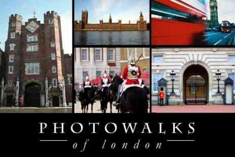 Photo Walks of London - History Themed Photographic Walking Tour of London - Save 60%