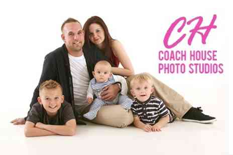 Coach House Photography - Family Photoshoot With Print and Digital Image - Save 84%