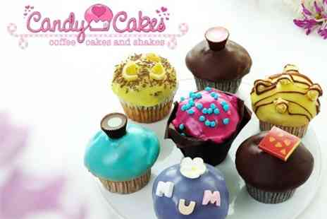 Candy Cakes - Mothers Day Box of Four Candy Cakes - Save 60%