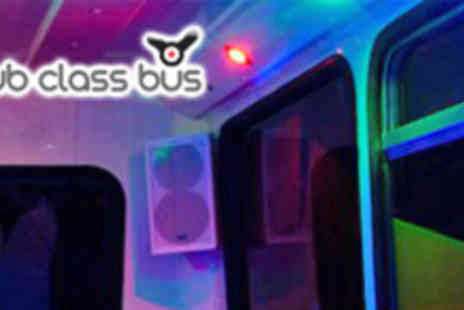 Club Class Bus - Eight Tickets for Party Bus Nightclub Tour - Save 61%