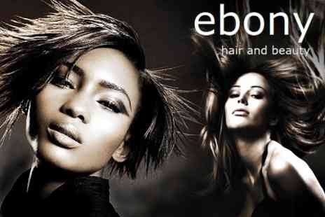 Ebony Hair and Beauty - Cut and Blow Dry With Conditioning and Head Massage - Save 68%