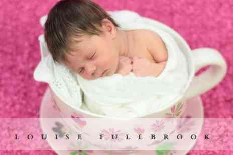 Louise Fullbrook - Newborn Photoshoot With Two Prints - Save 79%