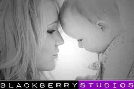 Blackberry Studios - Family or Individual Photoshoot With Ten Prints - Save 96%