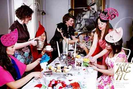 Millinery House Events - Mad Hatters Jewellery and Fascinator Making Masterclass with Katherine Elizabeth - Save 72%