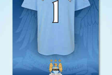 Manchester City Print Shop - Personalised MCFC Poster with Delivery - Save 50%