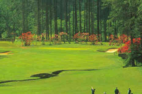 Slaley Hall - 18 Holes of Golf with 50 Driving Range Balls - Save 73%
