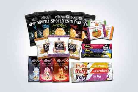 The Mood Food Company - Two Noughty Nibbles snack packs - Save 52%