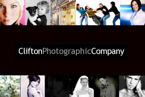 Clifton Photographic Company  - Family Photoshoot With 5 x 5  Framed Print - Save 90%