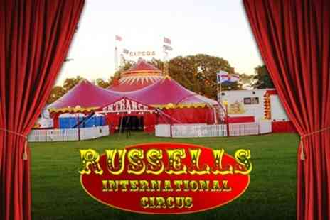 Russells International Circus - Russells International Circus Front Circle Tickets for Two Adults - Save 51%