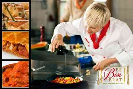 El Bon Plat - Spanish Cooking Three Hour Cookery Workshop - Save 60%