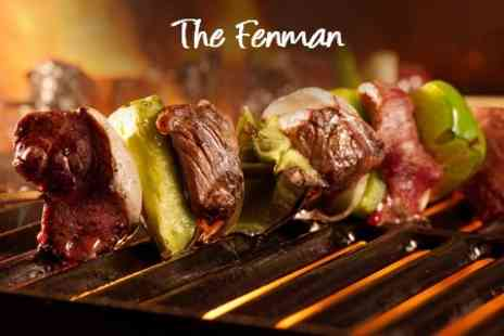 The Fenman - Three Course Meal For Two or Four People - Save 56%