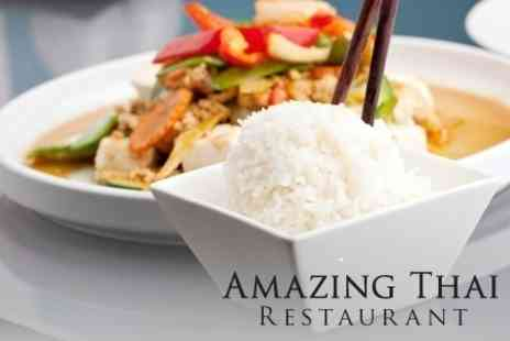 Amazing Thai Restaurant - Two Course Thai Meal With Rice or Noodles - Save 58%