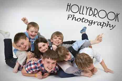 Hollybrook Photography - Photoshoot With Five Prints - Save 90%