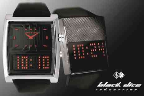 Black Dice Watch - Black Dice Digital LED Watches - Save 50%