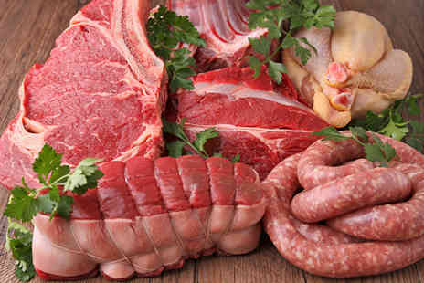 Highland Foods - Choice of 5 organic meat hampers - Save 56%