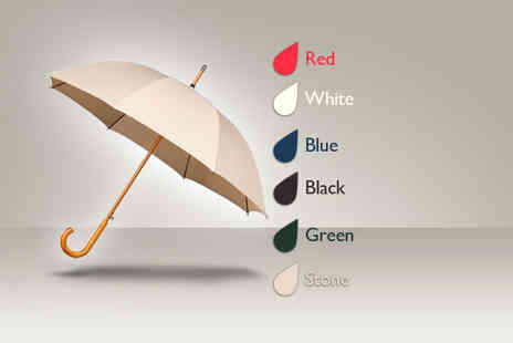 Umbrella Heaven - Warwick windproof walking umbrella in a choice of colours - Save 35%
