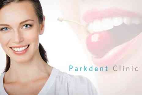 Parkdent Clinic - Laser Teeth Whitening, Scale and Polish, and Oral Hygiene Check - Save 76%