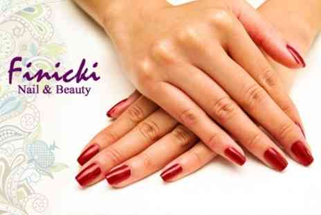 Finicki Nail - Manicure or Pedicure - Save 50%