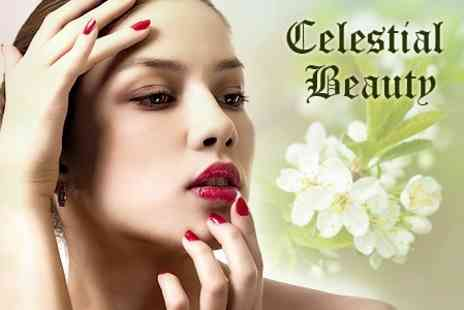 Celestial Beauty - Luxury Manicure and Pedicure - Save 67%