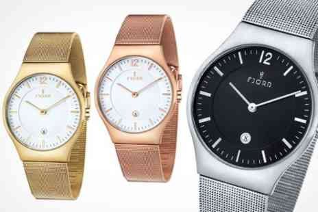 Fire Rock International - Fjord 'Olle' Mens Watches - Save 61%