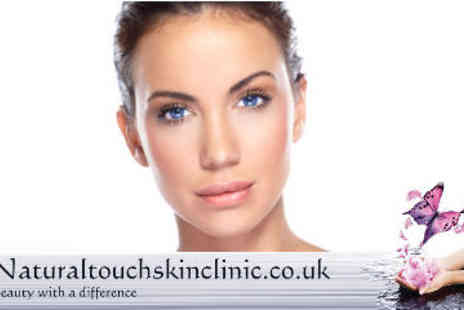 Natural Touch Beauty - Perfect Brows Treatment with Dermalogica Facial - Save 60%