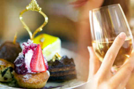 The Victorian Restaurant - Traditional afternoon tea for two including wine - Save 50%