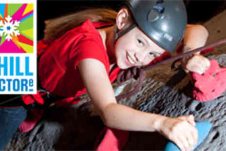 Chill Factore - Indoor climbing session for four people - Save 50%
