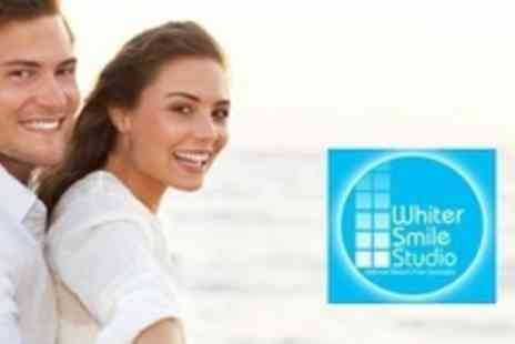 Whiter Smile Studio - One Hour Teeth Whitening Treatment - Save 72%