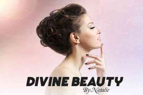Divine Beauty - Shellac Manicure and Pedicure - Save 65%