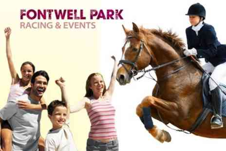 Fontwell Park Racecourse - Family Fun Day Tickets - Save 55%