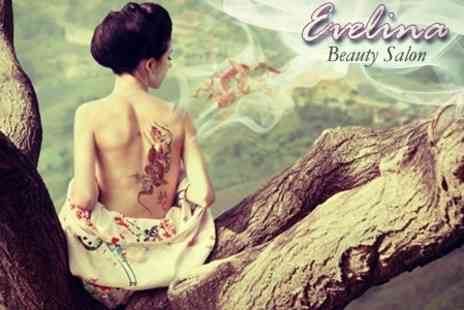 Evelina Beauty Salon - Laser Tattoo Removal Three Sessions on Small Area - Save 68%