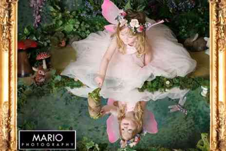 Mario Photography - Childrens Fairy Photoshoot With Mounted Prints - Save 92%