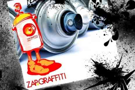 Zap Grafitti Arts - Two Hour Graffiti Workshop With Take Home Banner For One - Save 64%