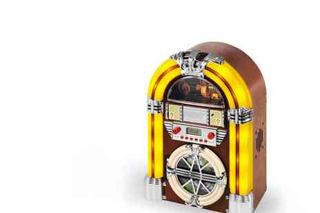 iTek Jukebox - iTek Jukebox Station CD Player and Radio - Save 55%