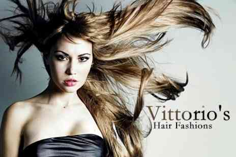 Vittorios Hair Fashions - Wash, Cut and Blow Dry - Save 38%