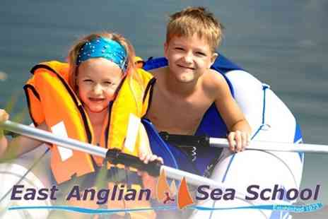 East Anglian Sea School - Dinghy Sailing Childrens Taster Session - Save 59%