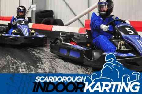 Scarborough Indoor Karting - Go Karting 60 Sprint Laps For One - Save 52%