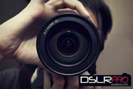 DSLR Pro Academy - Online SLR Photography Course - Save 84%