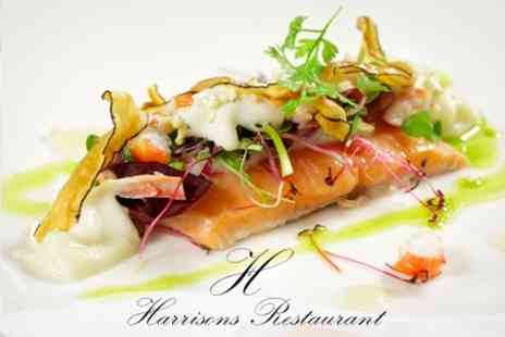 Harrisons Restaurant - Six Course Modern European Tasting Menu With Bubbly For Two - Save 60%
