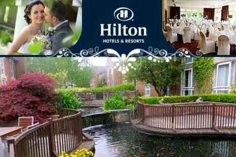 Hilton Newport - 2013 Wedding Package For 50 Guests Breakfast, Drinks, Evening Buffet and Deluxe Room - Save 52%
