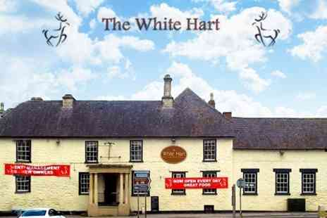 The White Hart - In Wiltshire One Night Stay For Two With Breakfast - Save 44%