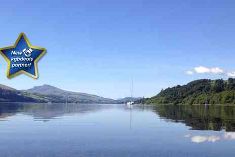 Bodiwan - Two night Snowdonia escape for two including canoeing on the lake - Save 54%