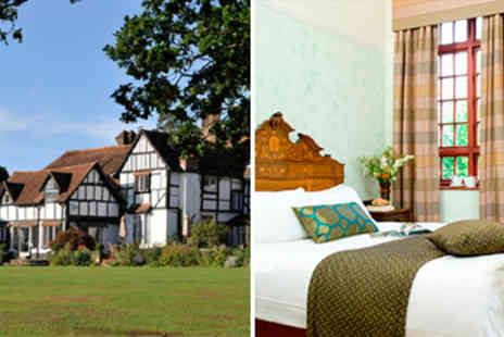 Ghyll Manor - In Sussex Overnight accommodation for two with Dinner - Save 57%