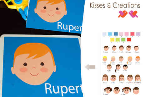 kisses and creations - Make mealtimes magical with this personalised placemat - Save 50%