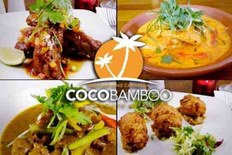 CocoBamboo - Brazilian or Caribbean Tasting Menu For Two - Save 59%