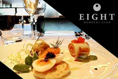 Quartier Restaurant - Five Course Tasting Menu With Champagne and Caviar For Two - Save 52%