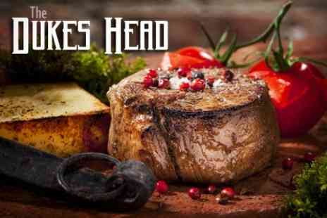 Dukes Head - Two-Course Meal For Two or Four - Save 52%